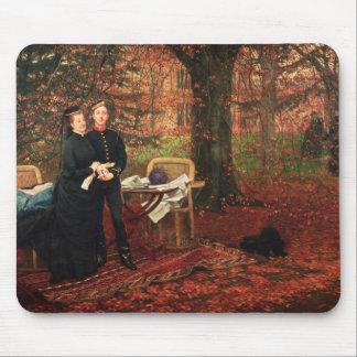 Empress Eugenie & Eugene-Louis Napoleon Mouse Pad