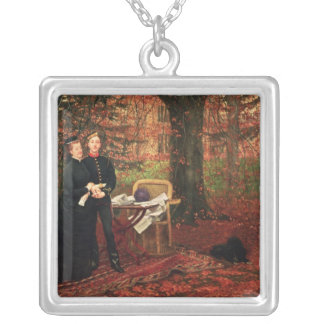 Empress Eugenie & Eugene-Louis Napoleon Silver Plated Necklace