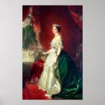 Empress Eugenie of France Poster