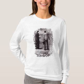 Empress Eugenie visiting the tomb of Napoleon I T-Shirt