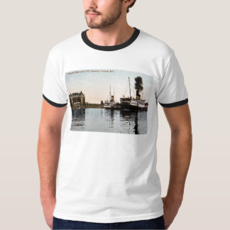 Empress Hotel and C.P.R. Steamers, Victoria, B.C. T-Shirt