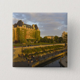 Empress Hotel and Inner Harbour waterfront, Button