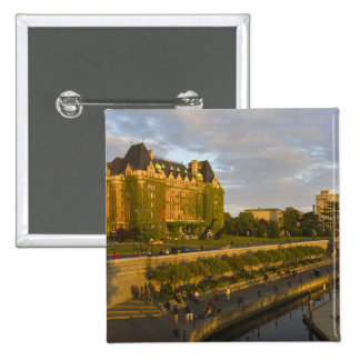 Empress Hotel and Inner Harbour waterfront, Pin