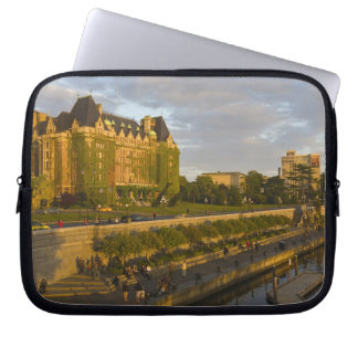 Empress Hotel and Inner Harbour waterfront, Computer Sleeve
