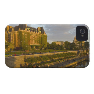 Empress Hotel and Inner Harbour waterfront, iPhone 4 Case