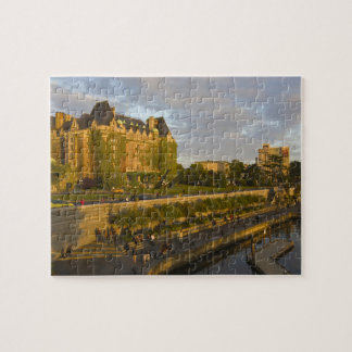 Empress Hotel and Inner Harbour waterfront, Jigsaw Puzzle