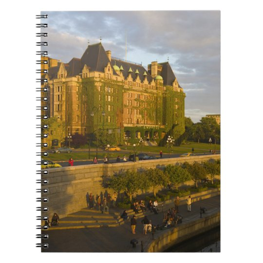 Empress Hotel and Inner Harbour waterfront, Notebook