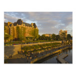 Empress Hotel and Inner Harbour waterfront, Post Card