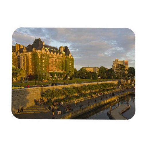 Empress Hotel and Inner Harbour waterfront, Rectangular Magnets
