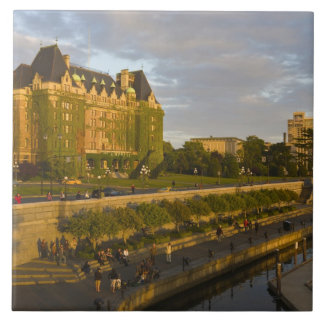 Empress Hotel and Inner Harbour waterfront, Tile