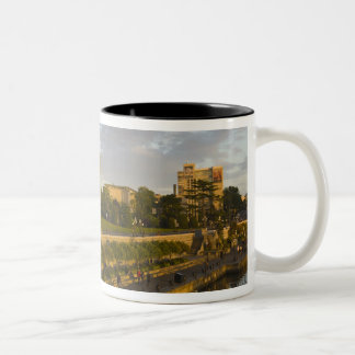 Empress Hotel and Inner Harbour waterfront, Two-Tone Coffee Mug