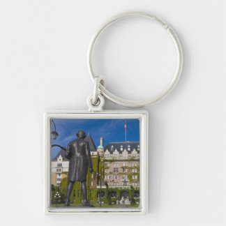 Empress Hotel and statue of Captain James Cook, Key Chain