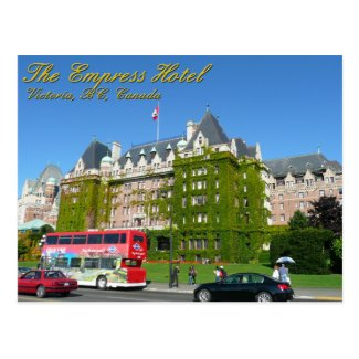 Empress Hotel Postcards