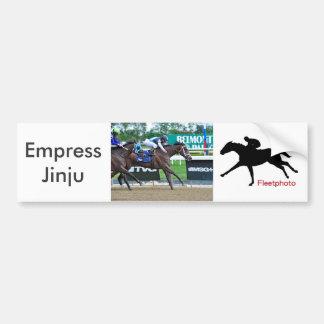 Empress Jingu Bumper Sticker