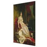 Empress Josephine  1808 Canvas Print
