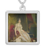 Empress Josephine  1808 Square Pendant Necklace