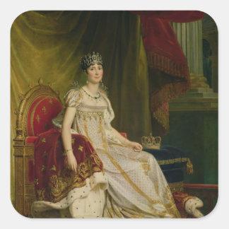 Empress Josephine  1808 Square Sticker