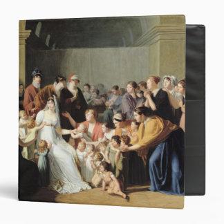 Empress Josephine  Among the Children, 1806 3 Ring Binder