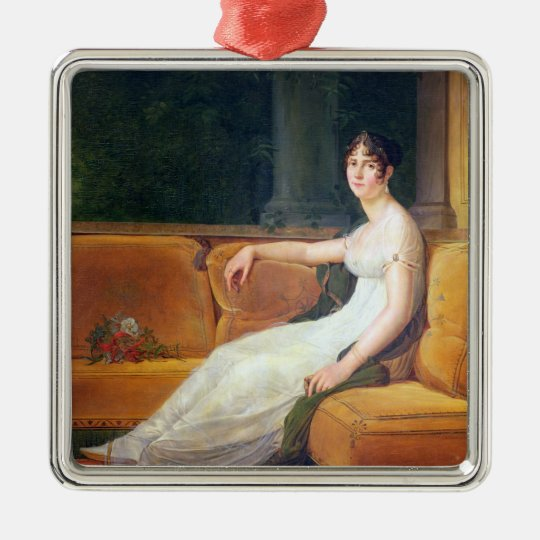 Empress Josephine  at Malmaison, c.1801 Metal Ornament