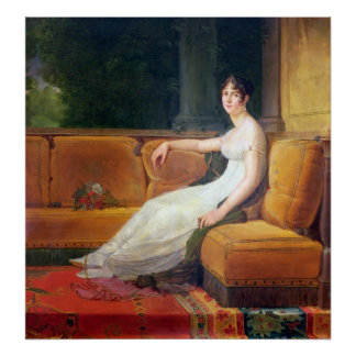 Empress Josephine  at Malmaison, c.1801 Poster