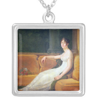 Empress Josephine  at Malmaison, c.1801 Silver Plated Necklace