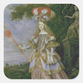 Empress Margaret Theresa Square Sticker