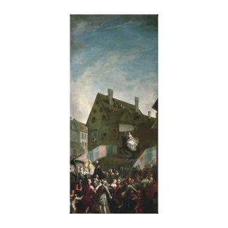 Empress Maria Theresa of Austria Canvas Print