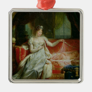 Empress Marie-Louise  and the King of Rome, 1812 Metal Ornament