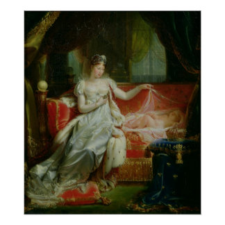 Empress Marie-Louise  and the King of Rome, 1812 Posters