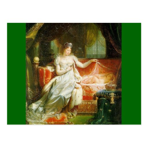 Empress Marie-Louise with the King of Rome Postcards