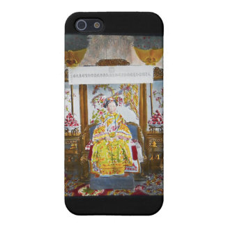 Empress of China Vintage Glass Slide Cover For iPhone SE/5/5s