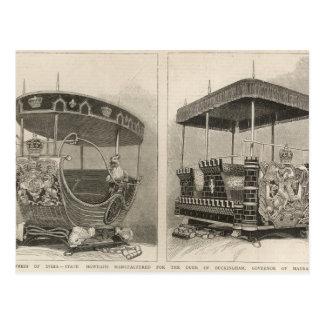 Empress of India Postcard