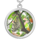 Empress of Oranges ~ Trees Please Sterling Silver Necklace