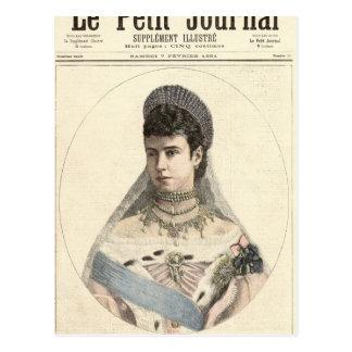 Empress of Russia Postcard