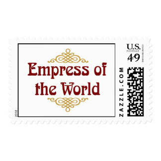 Empress Of The World Postage