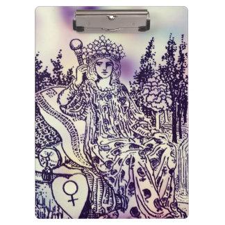 Empress Tarot Card Clipboard