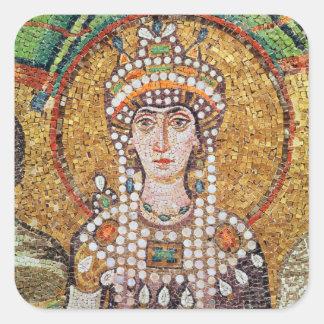 Empress Theodora Square Sticker