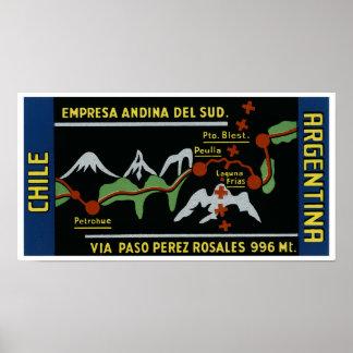 Empressa Andina Del Sud Poster