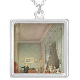 Empress's Bedroom with the Duchesse de Montebello Square Pendant Necklace
