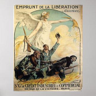 Emprunt de la Liberation Poster
