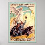 Emprunt de la Liberation ~ Vintage French WW1 Poster
