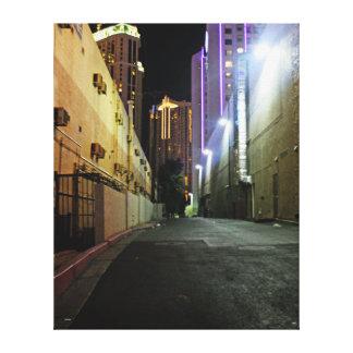 Empty Alley Las Vegas Canvas Print