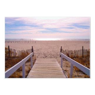 Empty Beach Card