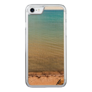 Empty beach carved iPhone 7 case