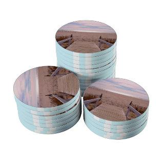 Empty Beach Poker Chips