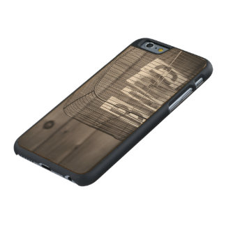 Empty bird cage carved® maple iPhone 6 slim case