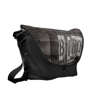 Empty bird cage courier bags