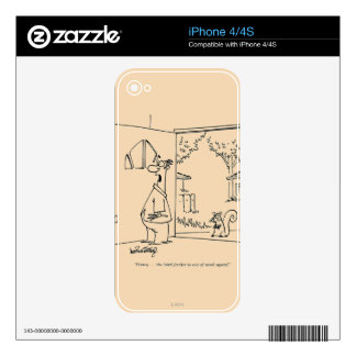 Empty Bird Feeder Decal For The iPhone 4
