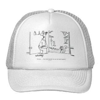 Empty Bird Feeder Hats