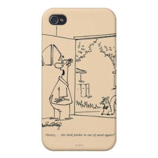 Empty Bird Feeder iPhone 4/4S Cover